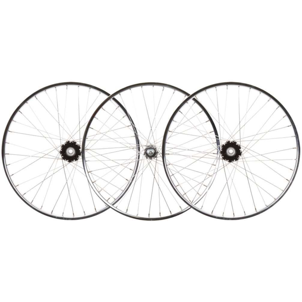 Wheelset 24X1.75 Stl Cp 36 Trike 15mm w/Bearings