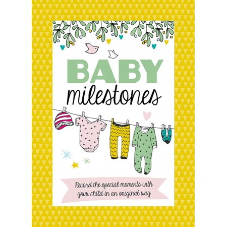 Baby Milestone Cards : Record the Special Moments with Your Child in an Original