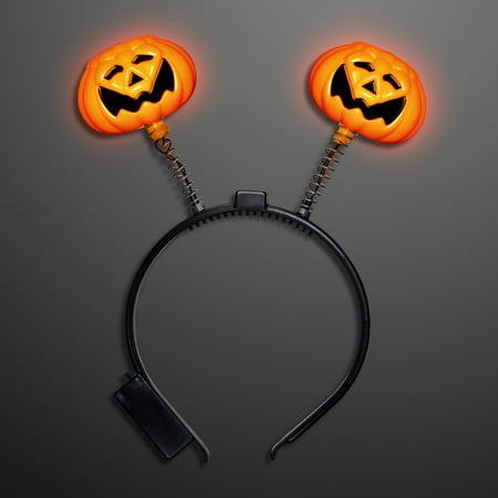 Light Up Pumpkins (FlashingBlinkyLights Light Up Pumpkin Head Boppers)