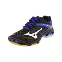 a712171297e9 Product Image Mizuno Women's Wave Lighting Z3 Black / White Blue Ankle-High  Volleyball Shoe - 6M