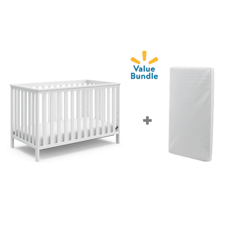 Storkcraft Rosland Crib and Mattress Value Pack](Stork With Baby)