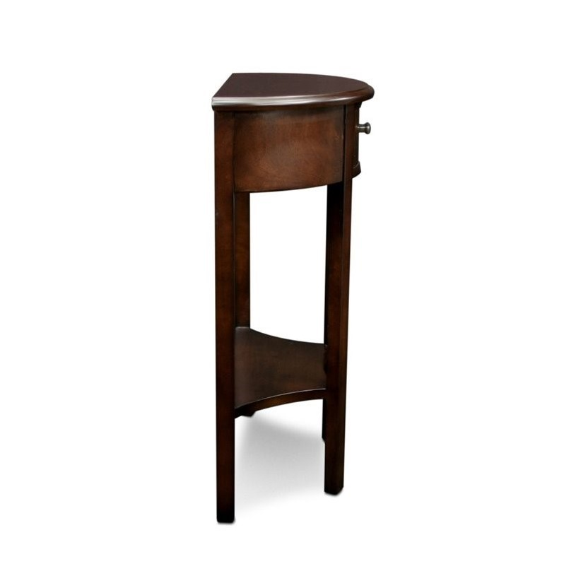 Bowery Hill Accent Table in Chocolate - image 1 de 5