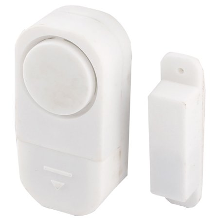 Home Plastic Shell Wall Mounted Motion Detector Burglar Security Alarm System