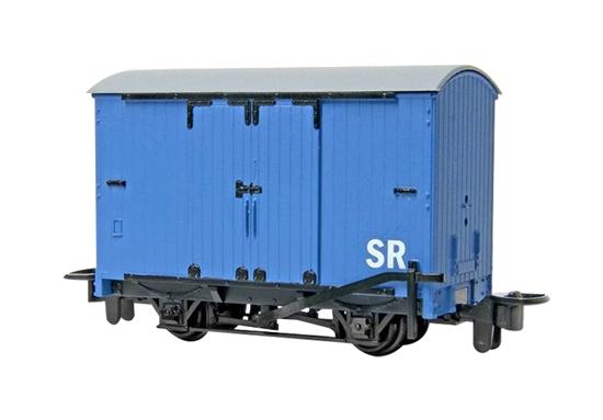 Ho N Thomas and Friends Narrow Gauge Box Van Blue by
