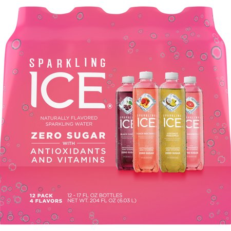 Halloween Alcoholic Drinks With Dry Ice (Sparkling Ice® Variety Pack, 17 Fl Oz, 12 Count (Black Cherry, Peach Nectarine, Coconut Pineapple, Pink)