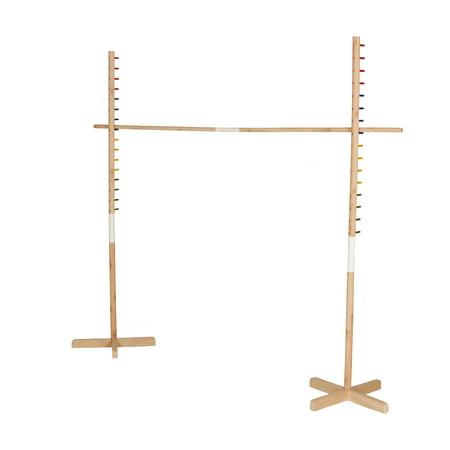 Get Out!™ Wooden Limbo Set 5' Feet - Limbo Sticks