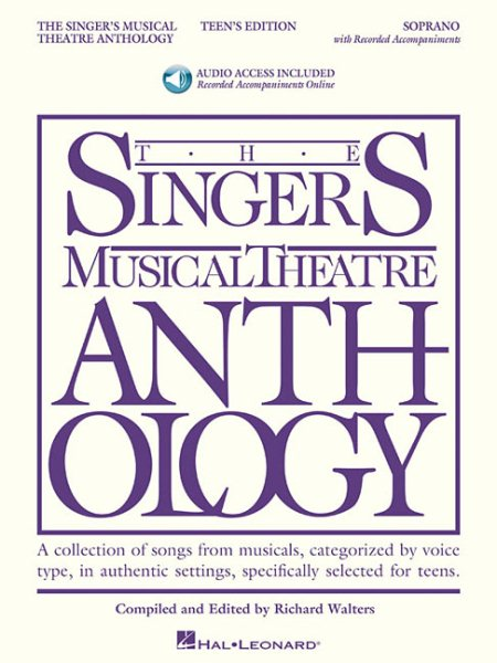 Singer's Musical Theatre Anthology Teen's Edition by