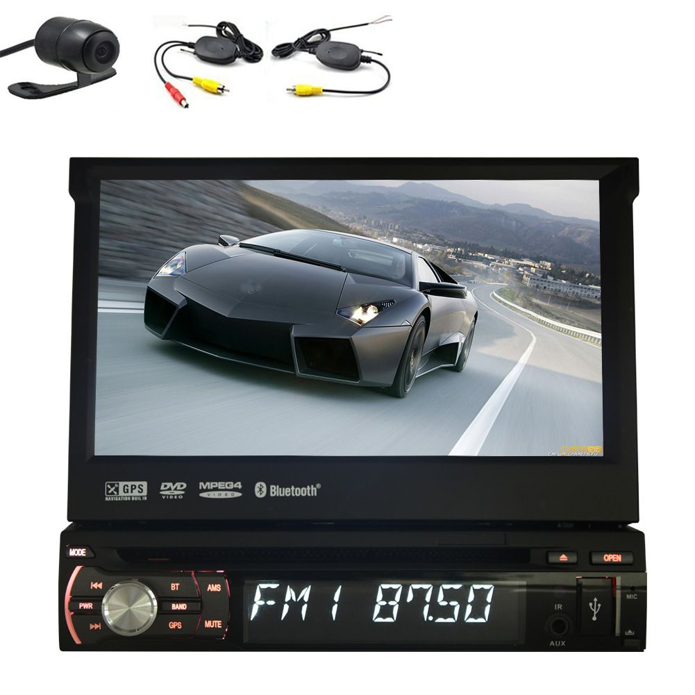 EinCar in Dash Single 1 Din Car DVD GPS Player Automotive...