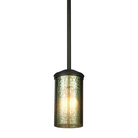 Sea Gull Lighting 6110401 Sfera 1 Light Mini Pendant - Bronze