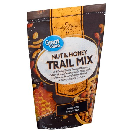 Great Value Nut & Honey Trail Mix, 26 oz
