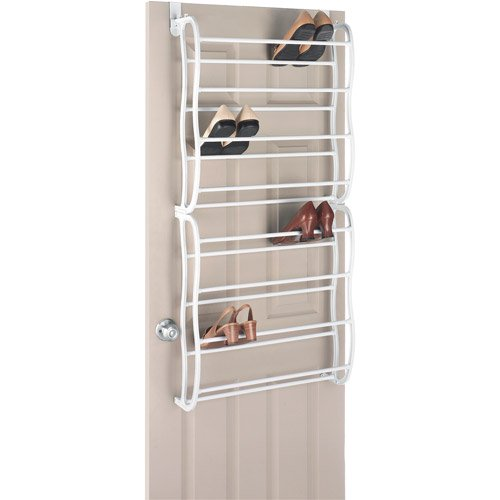 mainstays over the door shoe rack walmartcom - Over The Door Shoe Rack