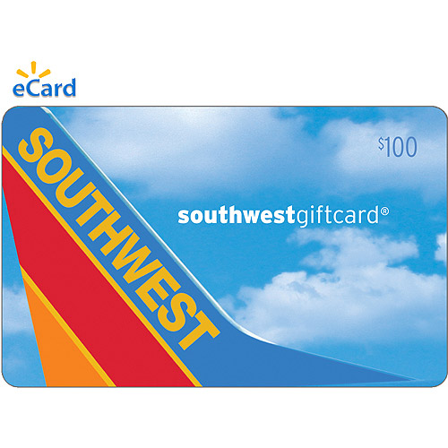 (Email Delivery) Southwest Airlines $100 eGift Card