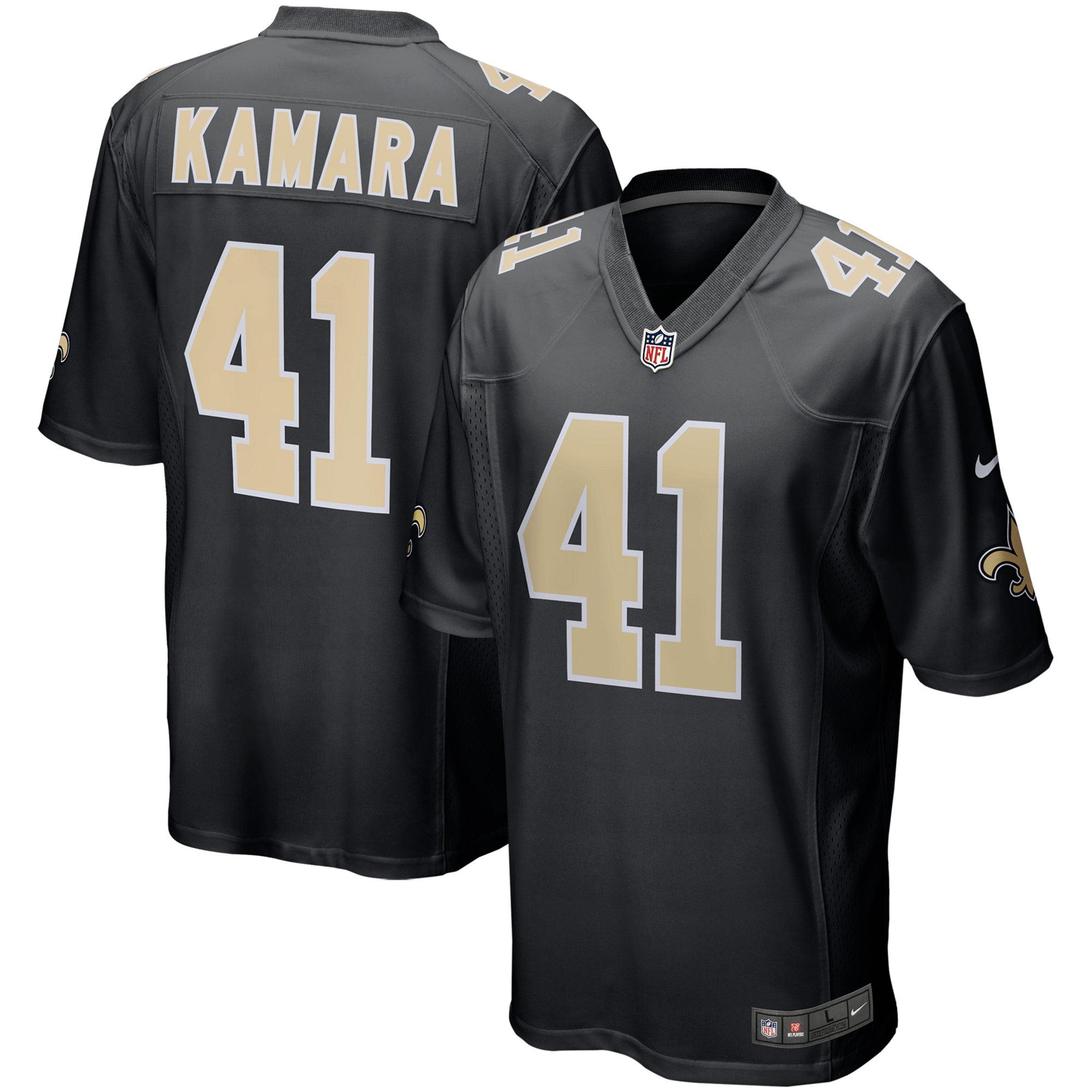 Alvin Kamara New Orleans Saints Nike Event Game Jersey - Black