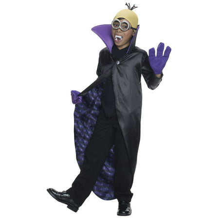 Minions Kids Costume (Minion Dracula Costume for)
