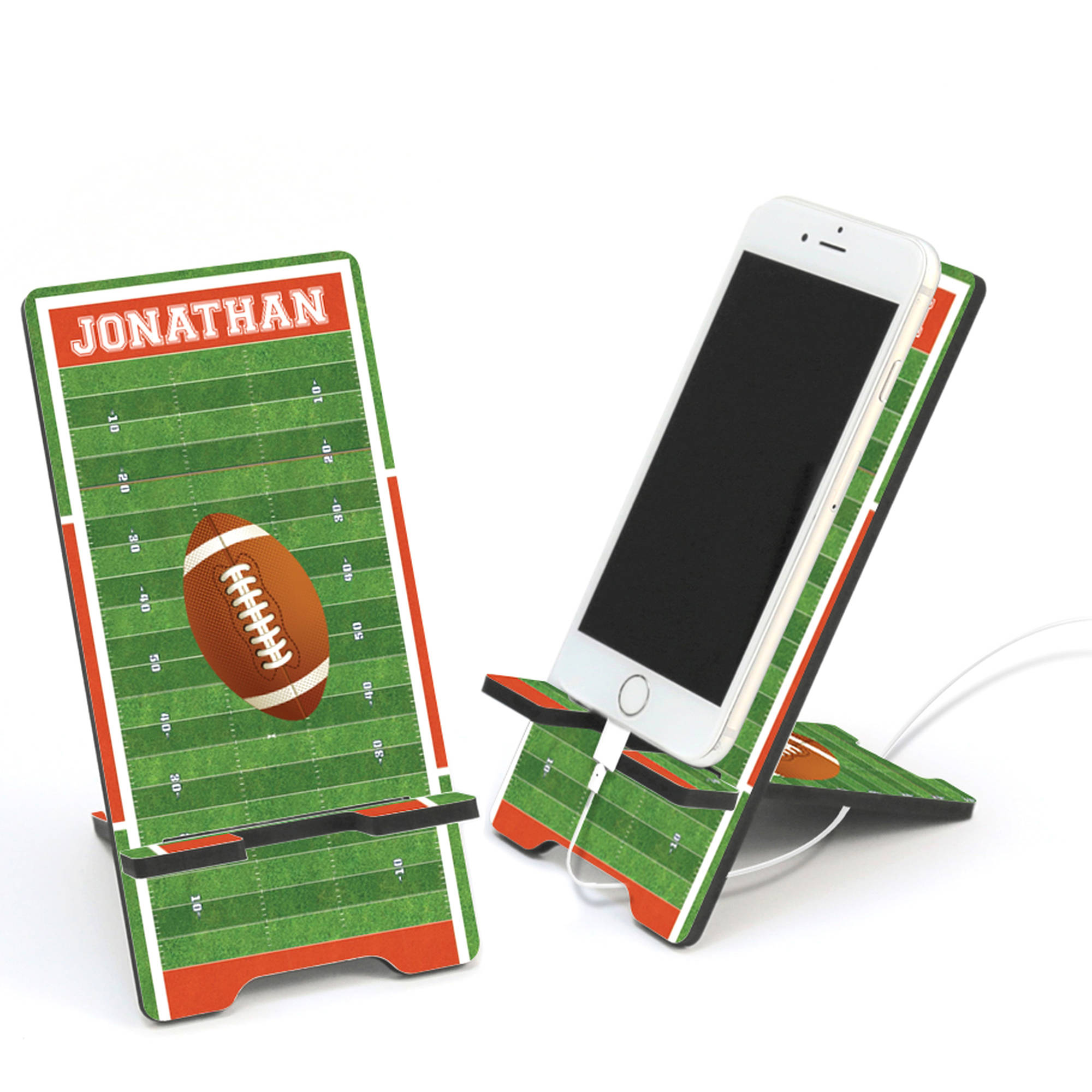 Personalized Football Cell Phone Stand