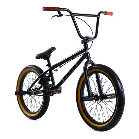 "Elite 20"" BMX Bicycle The Stealth Freestyle Bike New 2019 - Black (Best Road Bike Frame 2019)"