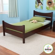 kidkraft addison twin bed espresso