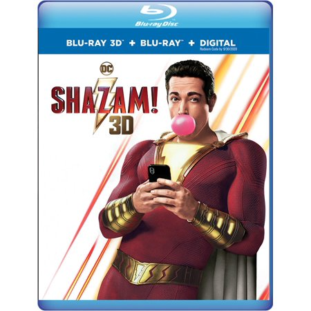 Shazam! (3D Blu-ray + Blu-ray + Digital Combo (Best Of 3d The Ultimate 3d Collection)