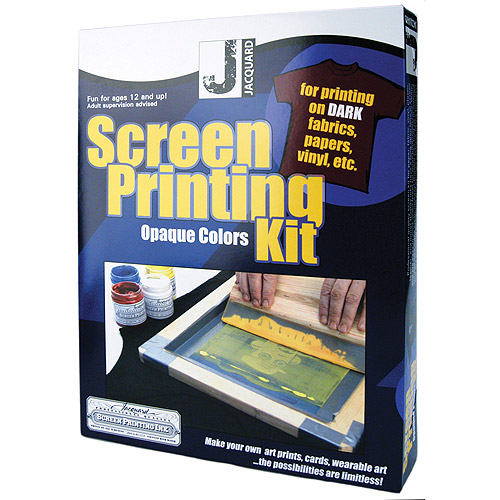 Jacquard Opaque Colors Screen Printing Kit