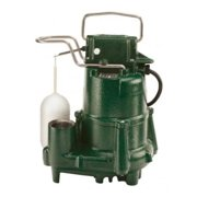 Zoeller 98-0005 Flow-Mate Model 98 1/2 Hp 115V Cast Iron Submersible Sump Pump -