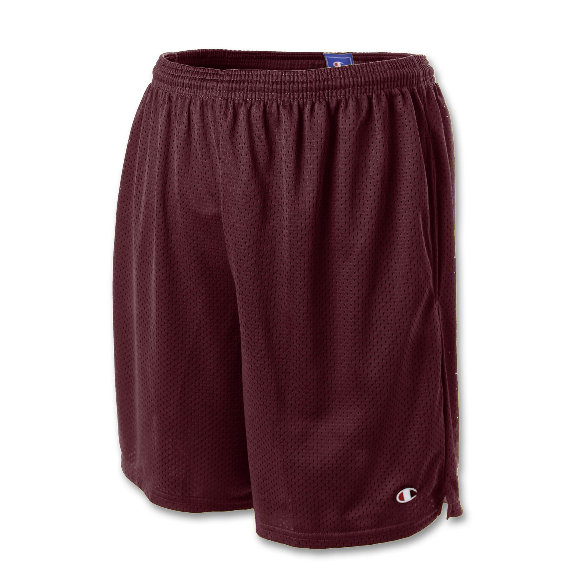 22c4cb35e103 Champion Mens Long Mesh Shorts with Pockets
