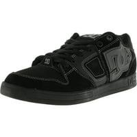 Dc Men s Sceptor Black   Grey Ankle-High Leather Skateboarding Shoe - 7M 4435de751