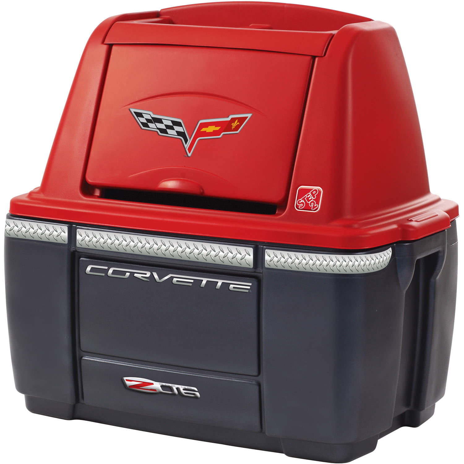Corvette Bedroom Set Part - 44: Corvette Storage Chest - Walmart.com