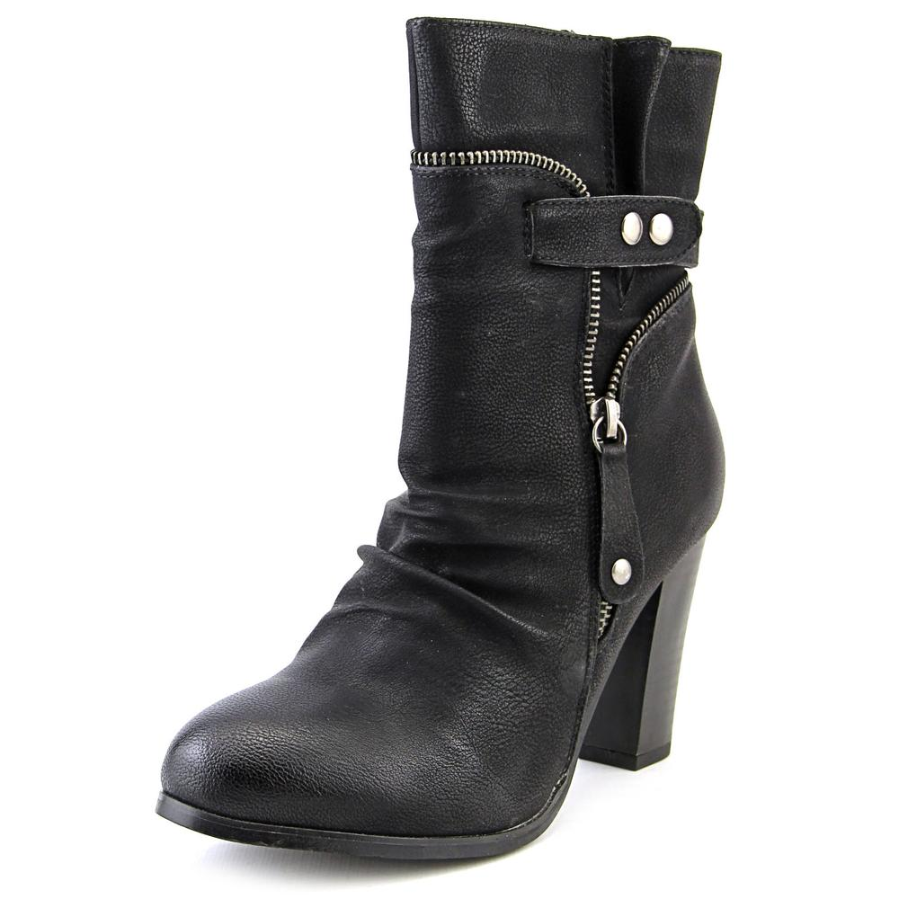 Image of 2 Lips Too Too Willie Round Toe Leather Ankle Boot