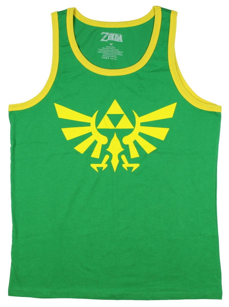 Triforce vintage logo tank top fitness-Legend Link symbole Game zelda triforce