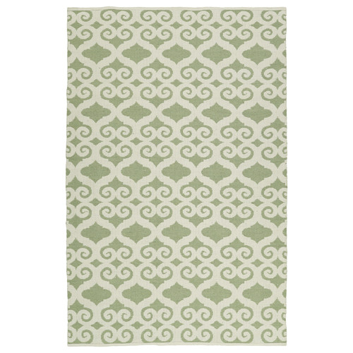 Kaleen Brisa Cream/Green Indoor/Outdoor Area Rug