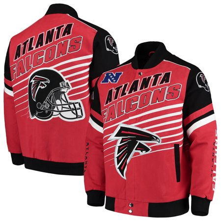 Atlanta Falcons G-III Extreme Linebacker Twill Jacket - Red ()