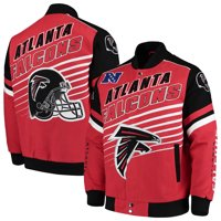 Atlanta Falcons G-III Extreme Linebacker Twill Jacket - Red