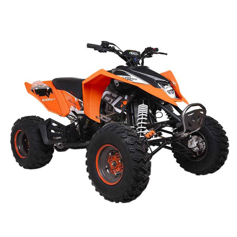 T4B MADMAX ADULT ATV 250cc Dirt Quad Recreational Outdoors, Off-Road, All Terrain, 4 stroke, single-cylinder, air-cooled - Black - image 2 de 7