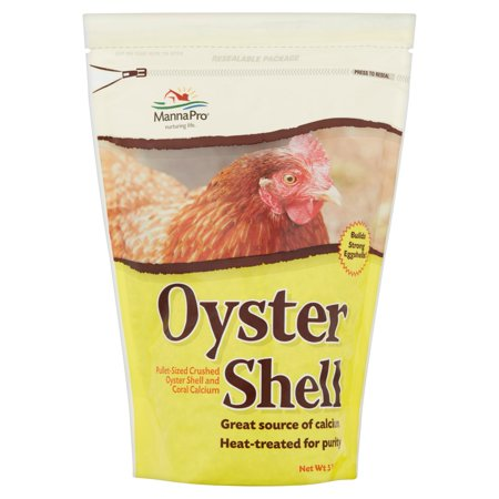 Manna Pro Pullet Size Crushed Feed Oyster Shell, 5 lb