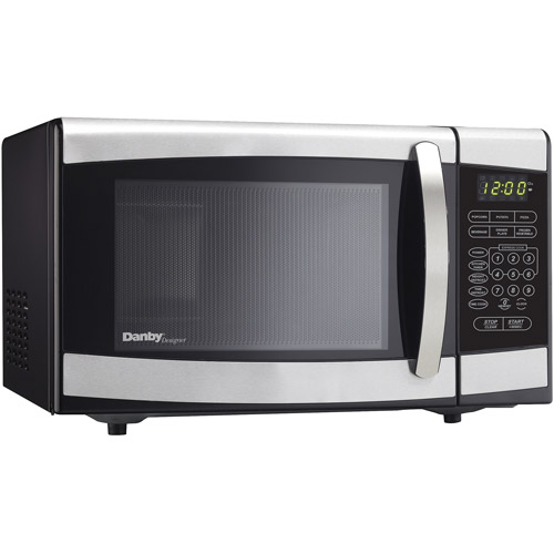 Danby 0.7-cu ft Countertop Microwave, Stainless Steel