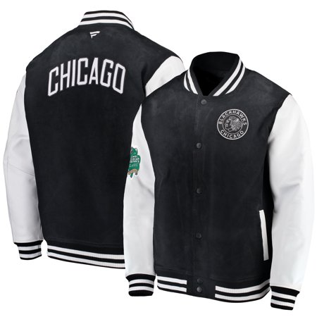 Chicago Blackhawks Fanatics Branded 2019 NHL Winter Classic Full-Button Coaches Jacket -