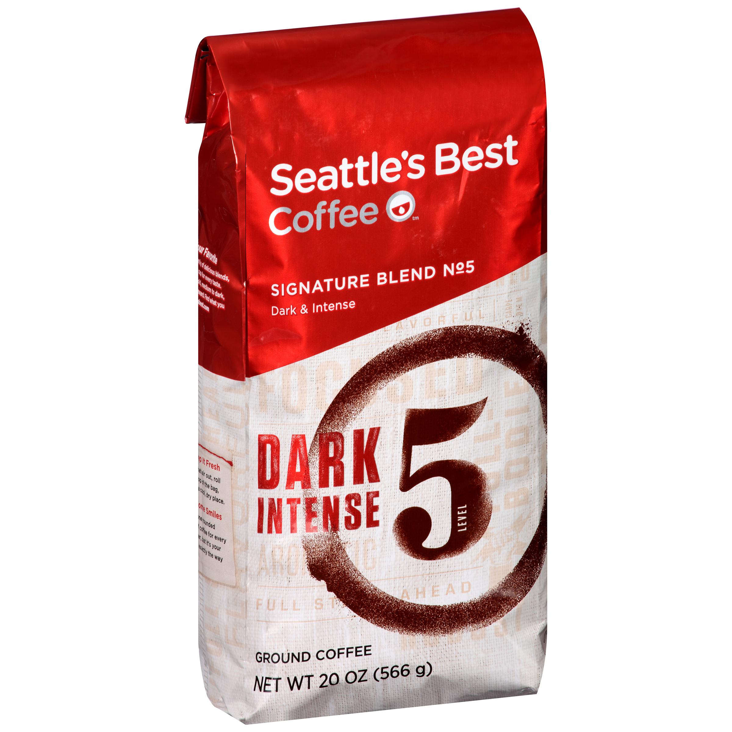 Seattle's Best Coffee��� Signature Blend No. 5 Dark & Intense Ground Coffee 20 oz. Bag