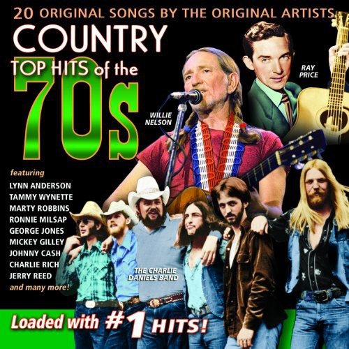 Country Top Hits - Country Top Hits of the 70's [CD]