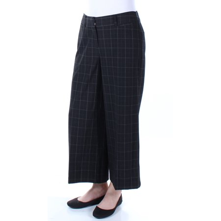 Womens Black Pinstripe (STYLE & CO Womens Black Pinstripe Pants  Size: 6 )