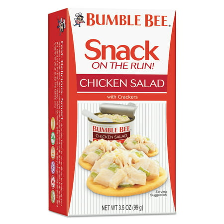Bumble Bee  Snack On The Run  Chicken Salad With Crackers 3 5 Oz  Box