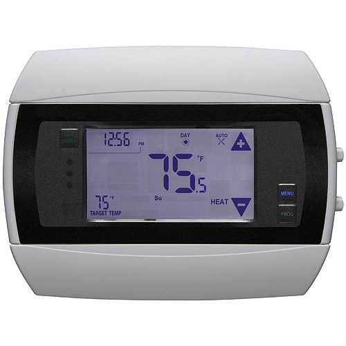 Radio Thermostat CT50e Programmable Communicating Thermostat, No Module Included