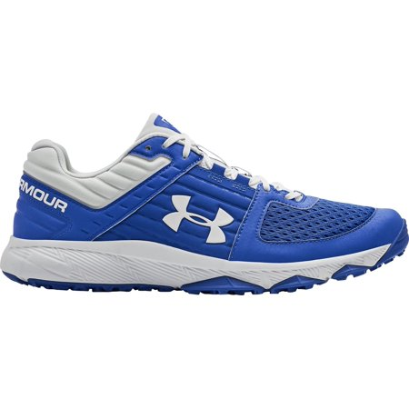 Under Armour Men's Yard Baseball Turf Shoes, Royal/White, Medium