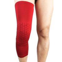 Basketball Knee Honeycomb Pad Compression Leg Sleeve Brace Anti-slip Anti-collision Sports Support Protector Gear
