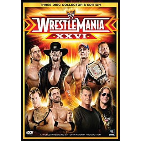 WWE: Wrestlemania XXVI (Full Frame) (Undertaker Vs Shawn Michaels Wrestlemania 26 Full Match)