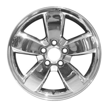 - 2008-2012 Ford Escape  17x7 Aluminum Alloy Wheel, Rim Chrome Cladded Face - 3680
