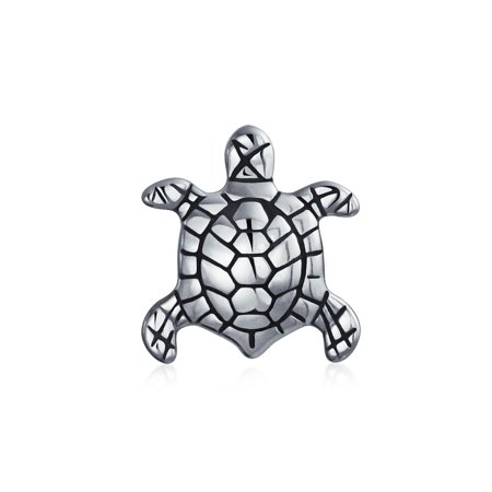 Nautical Sea Turtle Tropical Vacation Tortoise Bead Charm For Women For Teen 925 Sterling Silver Fits European Bracelet