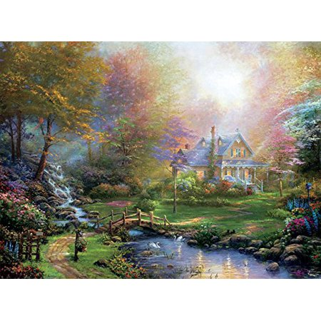 Thomas Kinkade A Mother S Perfect Day Puzzle 1000piece By