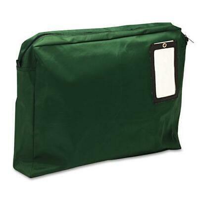 Expandable Dark Green Transit Sack, 18w x 14h x 4d Reusable Expandable Transit Sack