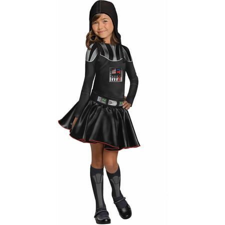 Star Wars Darth Vader Tutu Child Dress Up / Role Play Costume - Star Wars Kids Dress Up