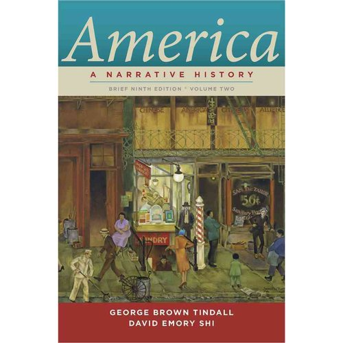 America: A Narrative History Chapters 17-34